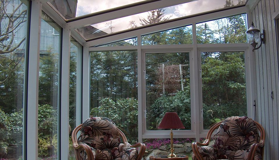 Sunroom sitting room