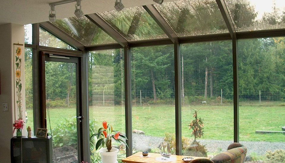 Tea room sunroom